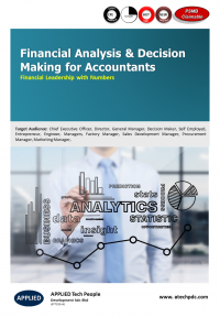 Financial Analysis & Decision Making for Accountants