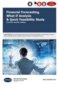 Financial Forecasting, What-if Analysis & Quick Feasibility Studies