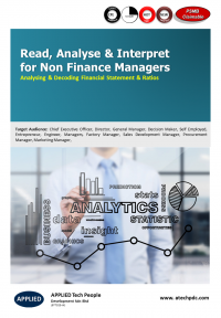 Read Analyse Interpret for Non Finance Managers