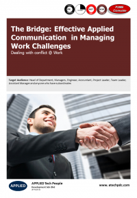 The Bridge-Effective Applied Communication in Managing Work Challenges