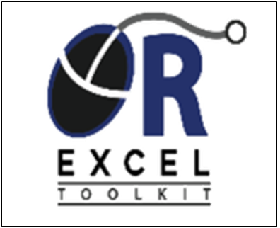 Excel OR Toolkits
