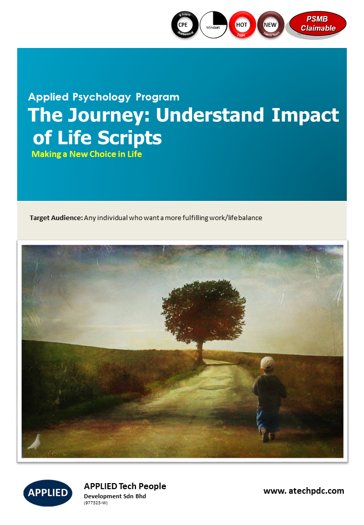 The Journey- Understand Impact of Life Scripts