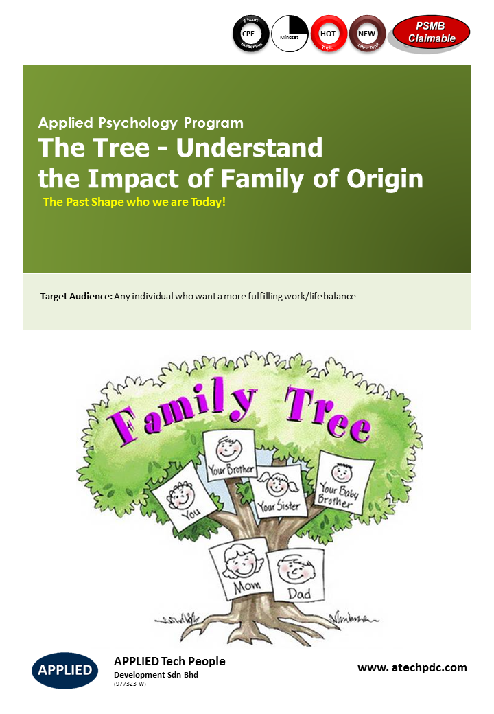 The Tree- Understand the Impact of Family of Origin
